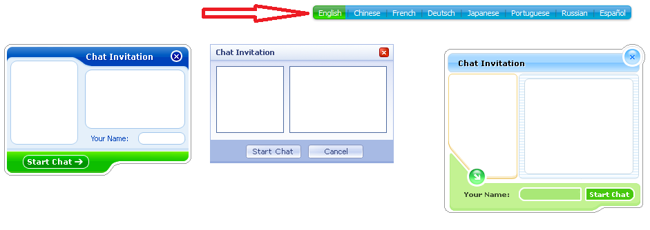Chat Invitation Background Images