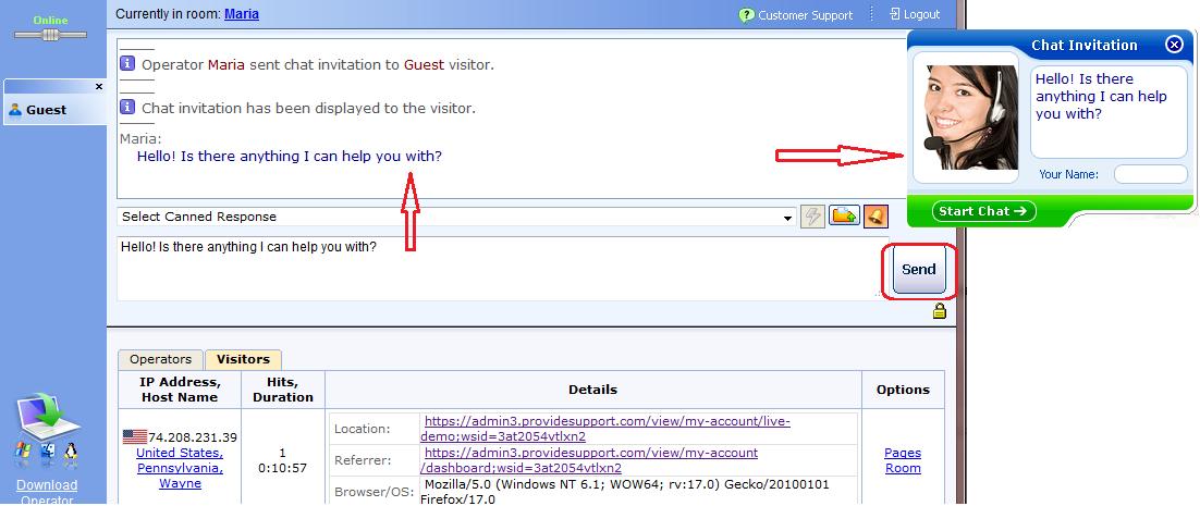 Adding Operator Greeting via Web-based Console