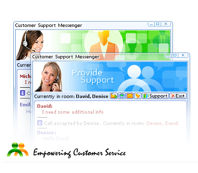 Live Chat Messenger Window