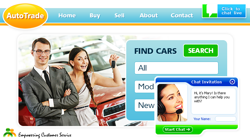 Live Chat for Automotive Websites