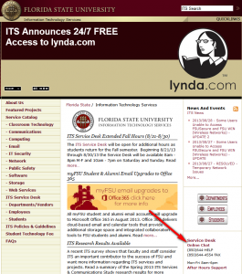 FSUWebsite Example