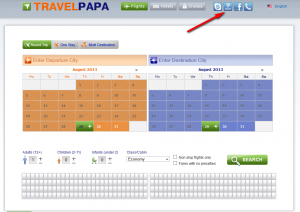 TravelPapa.com website example