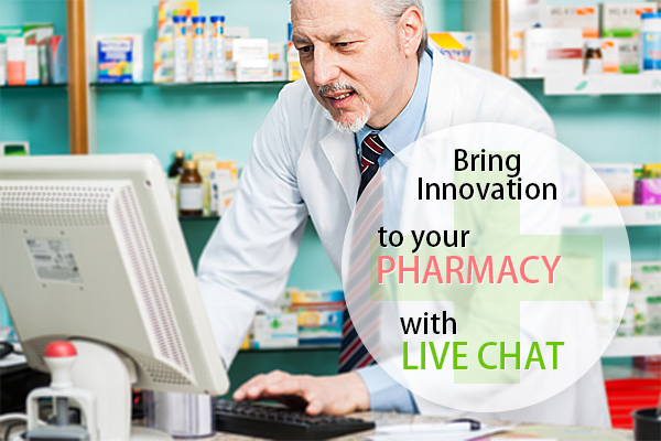 Grow your pharmacy business with live chat solution