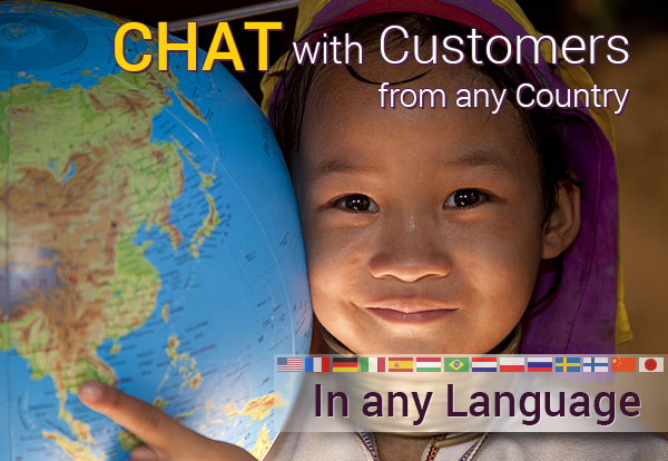 Multi-lingual live chat support
