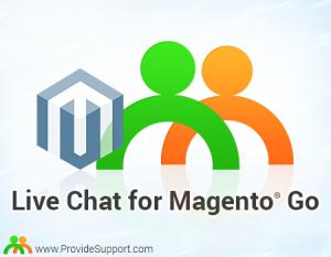 Magento Go Live Chat Integration