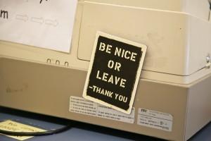 Handling Negative Feedback