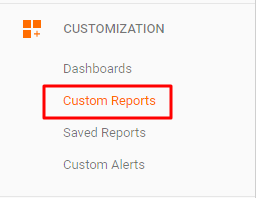 custom ga reports for live chat