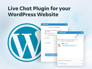 live chat plugin for your Word Press website