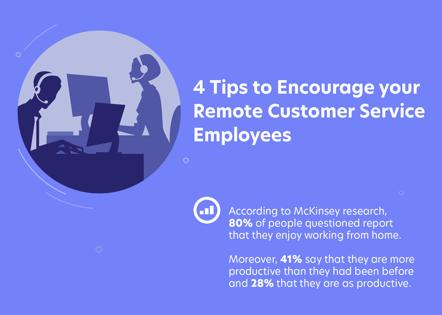 Encourage your remote customer service employees