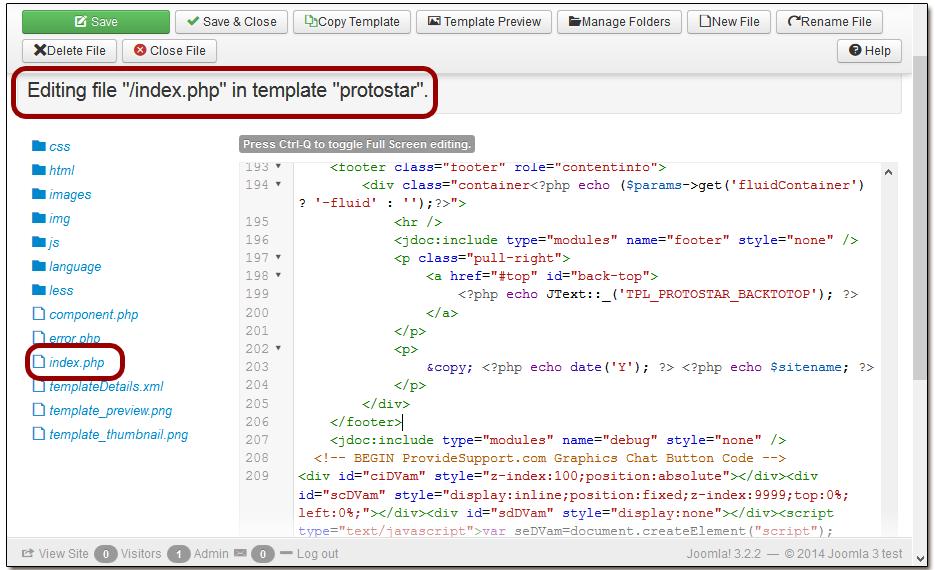 Integrations > CMS Integrations > Joomla > Direct Live Chat ...