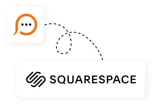 Live chat for Squarespace