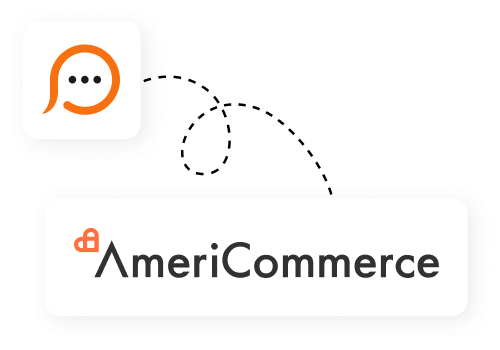 Live chat for AmeriCommerce
